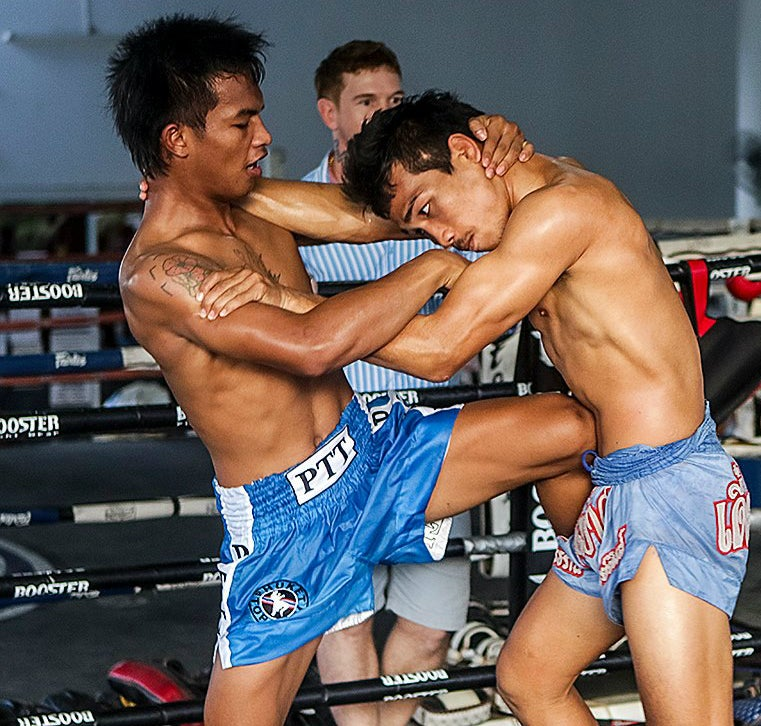 Image of Phuket Top Team Nylon Muay Thai Shorts