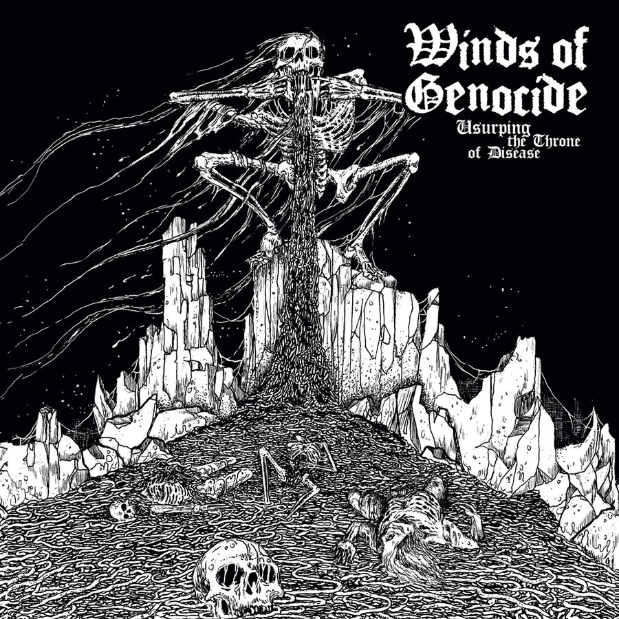 """Image of WINDS OF GENOCIDE """"Usurping The Throne Of Disease""""  CD"""