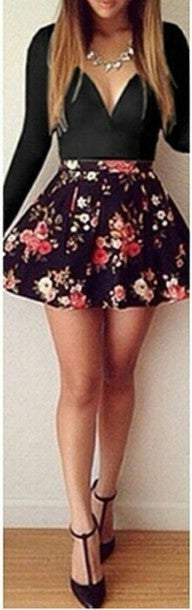Image of HOT SEXY SHOW BODY FLOWER DRESS