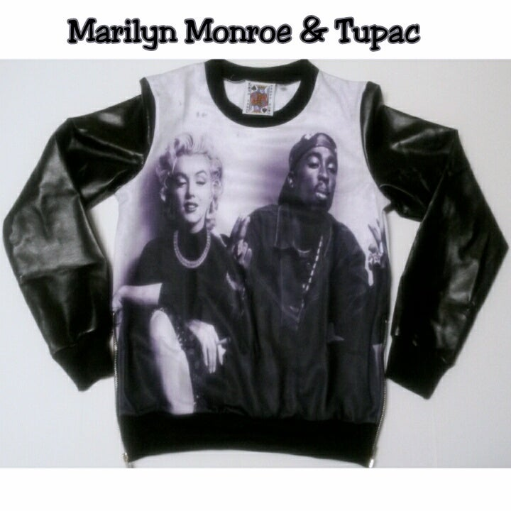 Marilyn monroe and tupac king james exclusives