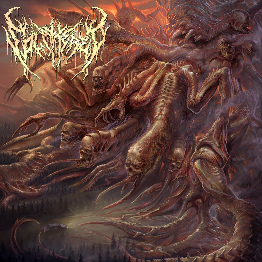 Image of Splattered - Guttural Species