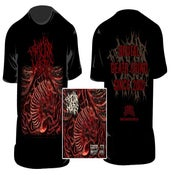 Image of THE RIGOR MORTIS - Grind to meat you T-SHIRT / CD+T-SHIRT+PATCH