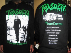 "Image of TOXODETH ""Phantasms""  Oficial Shirt."