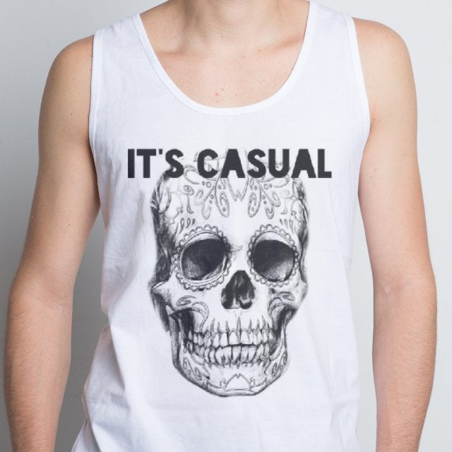 Image of day of the dead men's tanks