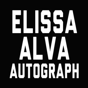 Image of Elissa Alva Autograph