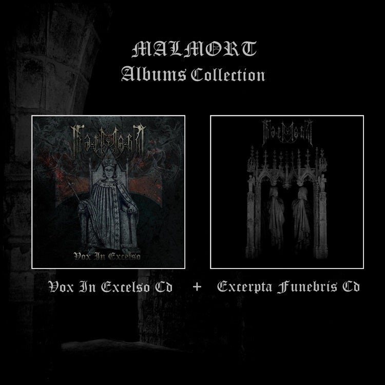 Image of MALMORT Albums Collection: Vox In Excelso (CD)+ Excerpta Funebris (CD)