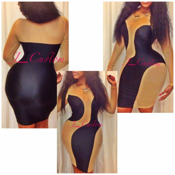 Image of Mocha  Dress