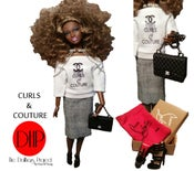 Image of Curls & Couture fashion doll