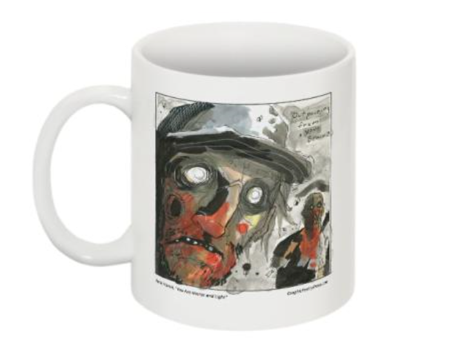 Image of Zombie Mug #1 by Nate Hamel