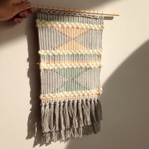 Image of HANDMADE WALL WEAVING 3