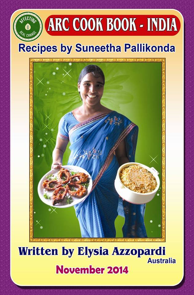 Image of ARC Cook Book India