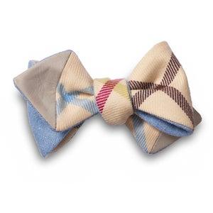 Image of JZ x MN4MN Blue Self-Tie