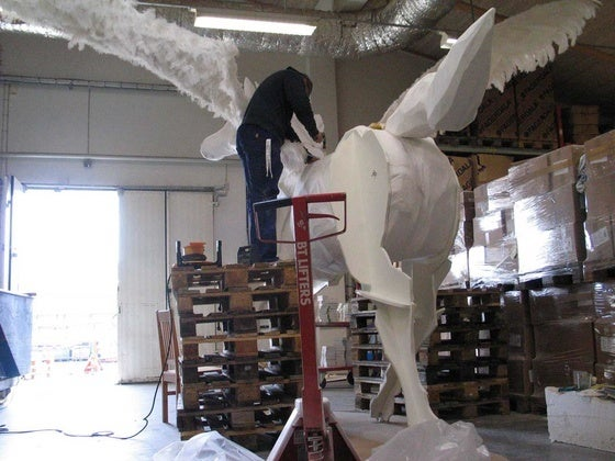 """Image of """"The Horse"""" - Sculpture"""