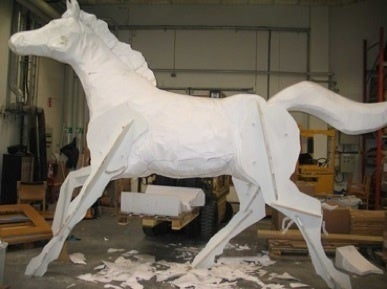 "Image of ""The Horse"" - Sculpture"
