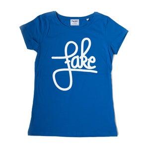 Image of Fake T-shirt (blauw)