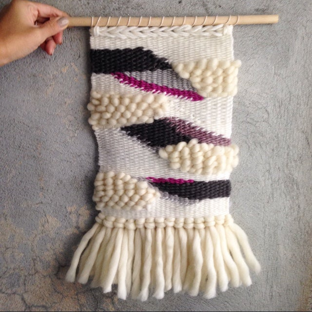Image of Handmade Tapestry Wall Weaving 10