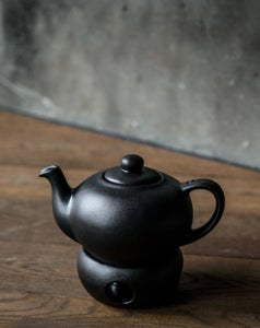 Image of Teapot with candle warmer