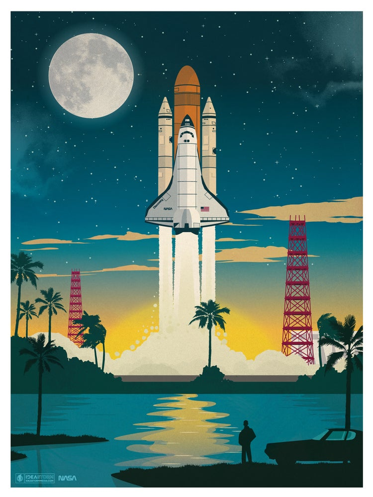 Image of Discovery Launch Poster