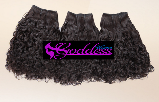 Image of 3PCS Gold+ Goddess Brazilian  remy Virgin Hair Weaves water waves