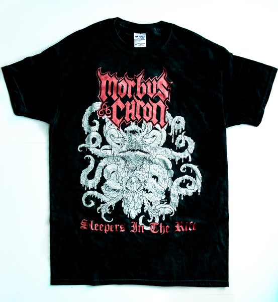 "Image of MORBUS CHRON ""Sleepers In The Rift"" T-Shirt"
