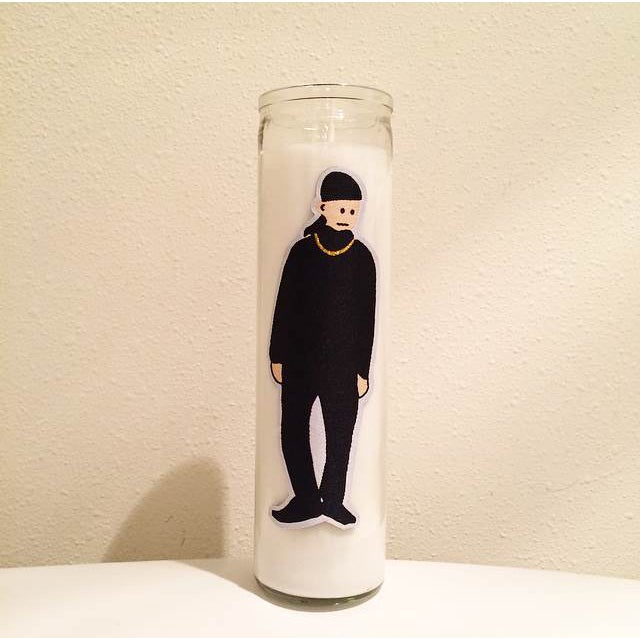 Image of Spooky Black Glass Candle Limted Edition