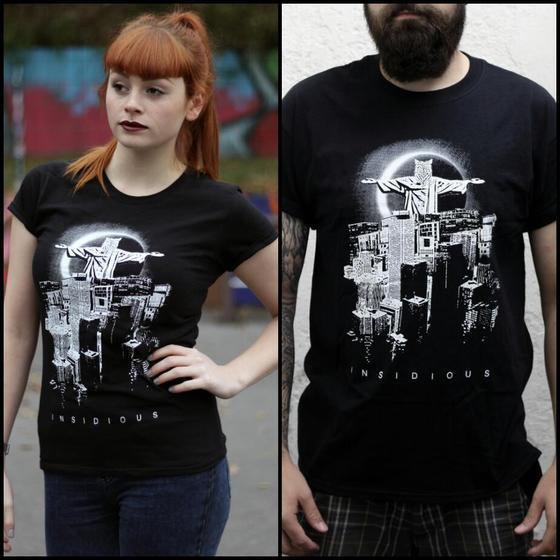 Image of INSIDIOUS T-Shirt / black / Wolfgod