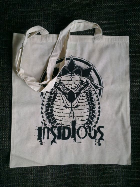 Image of INSIDIOUS TOTE BAG - snake