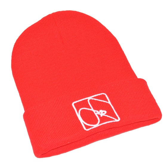 Image of FUR Red Beanie