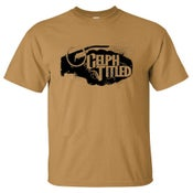 Image of Celph Titled Grenade Logo T-Shirt - Old Gold Tan Tee