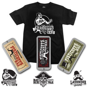 Image of  Fisticuffs Bare-Knuckle shirt and wax combo