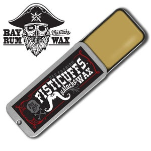 Image of Bay Rum Scent Fisticuffs Mustache Wax