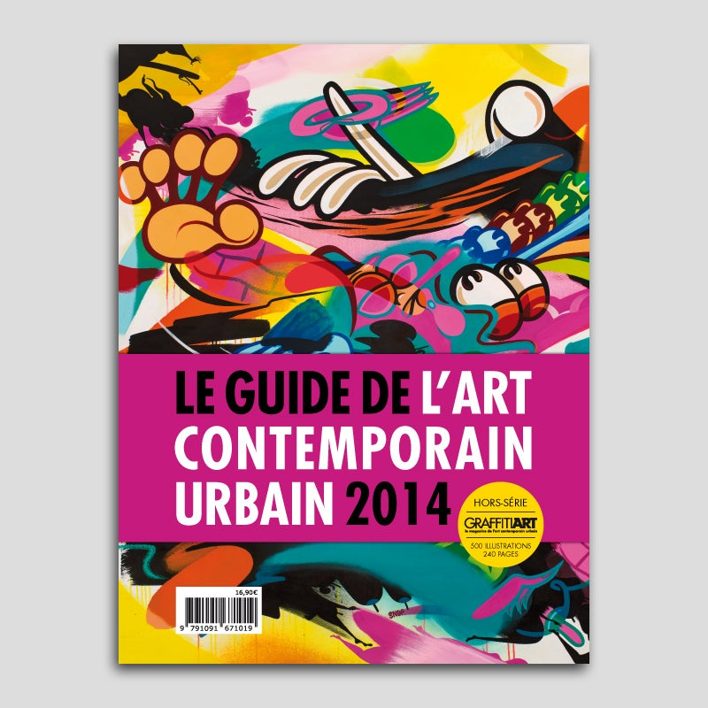 Image of Guide de l'art contemporain urbain 2014 (version française)