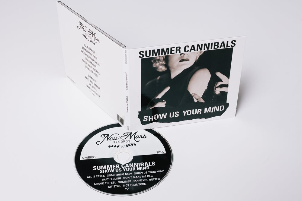 "Image of Summer Cannibals, ""Show Us Your Mind"" - CD"