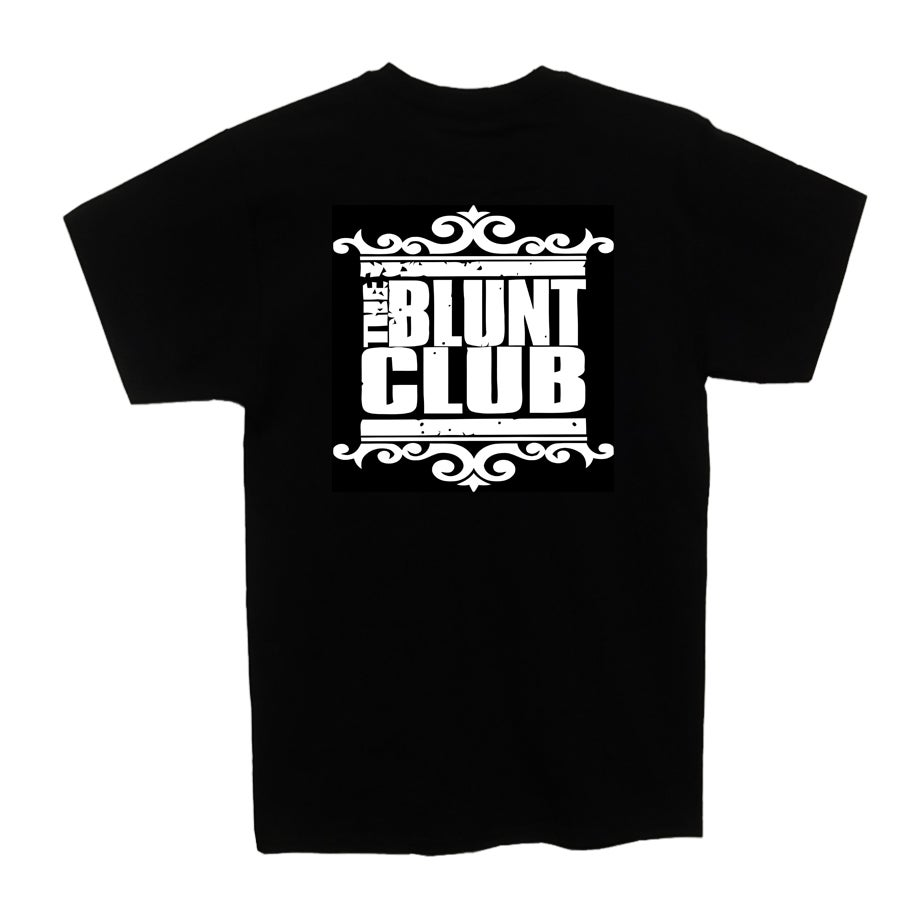 Image of Blunt Club - Mens Logo T (Black)