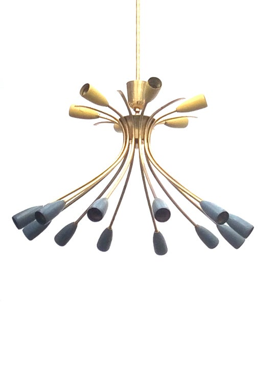 Image of Chandelier in the style of Stilnovo