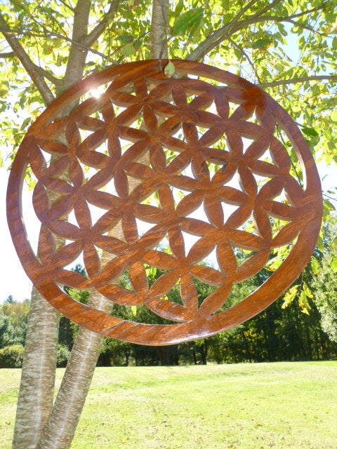 Image of Flower of Life 36""