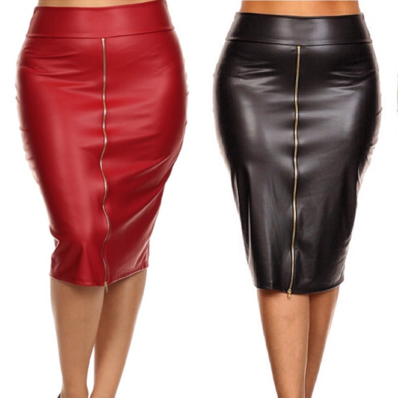 Image of Moto Skirt