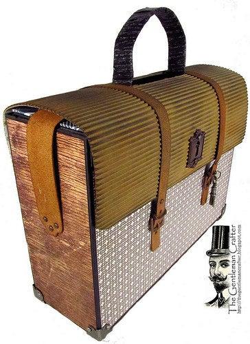 Image of The Gentleman's Satchel and Mini Tutorial -Instant DL