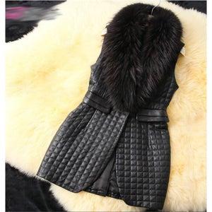 Image of Dana Big Fur Vest