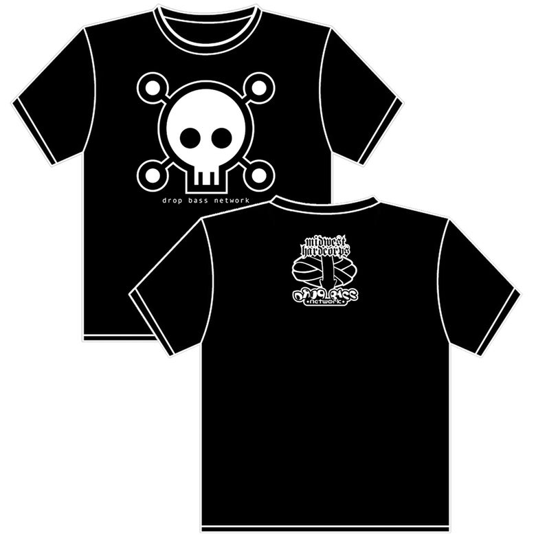 Image of Drop Bass Network: Skull (Tees & Hoodies)