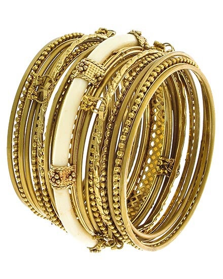 Image of STACKABLE BANGLE BRACELETS