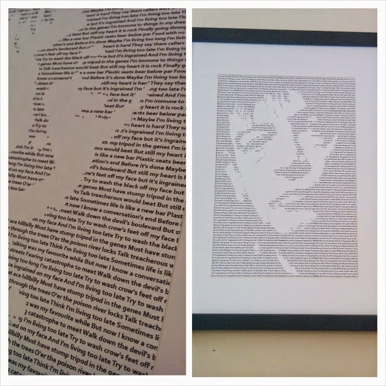 Image of Mark E Smith (The Fall) / Living Too Late Print