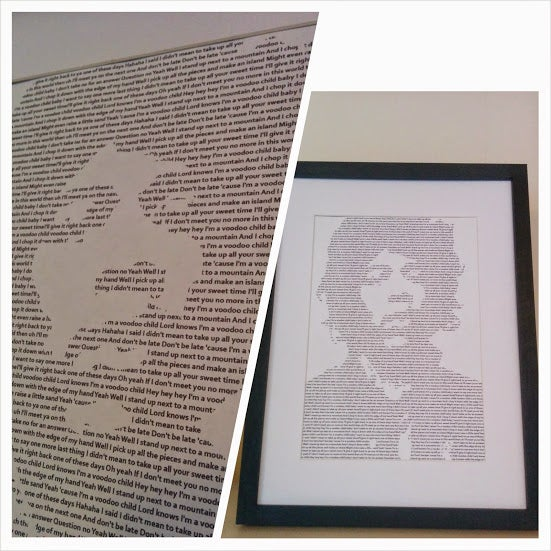 Image of Jimi Hendrix / Voodoo Child Print
