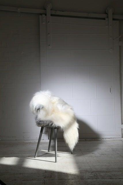 Image of IVORY ICELANDIC SHEEPSKIN