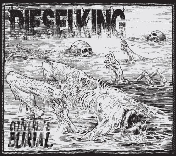 Image of DIESEL KING - 'Concrete Burial' CD