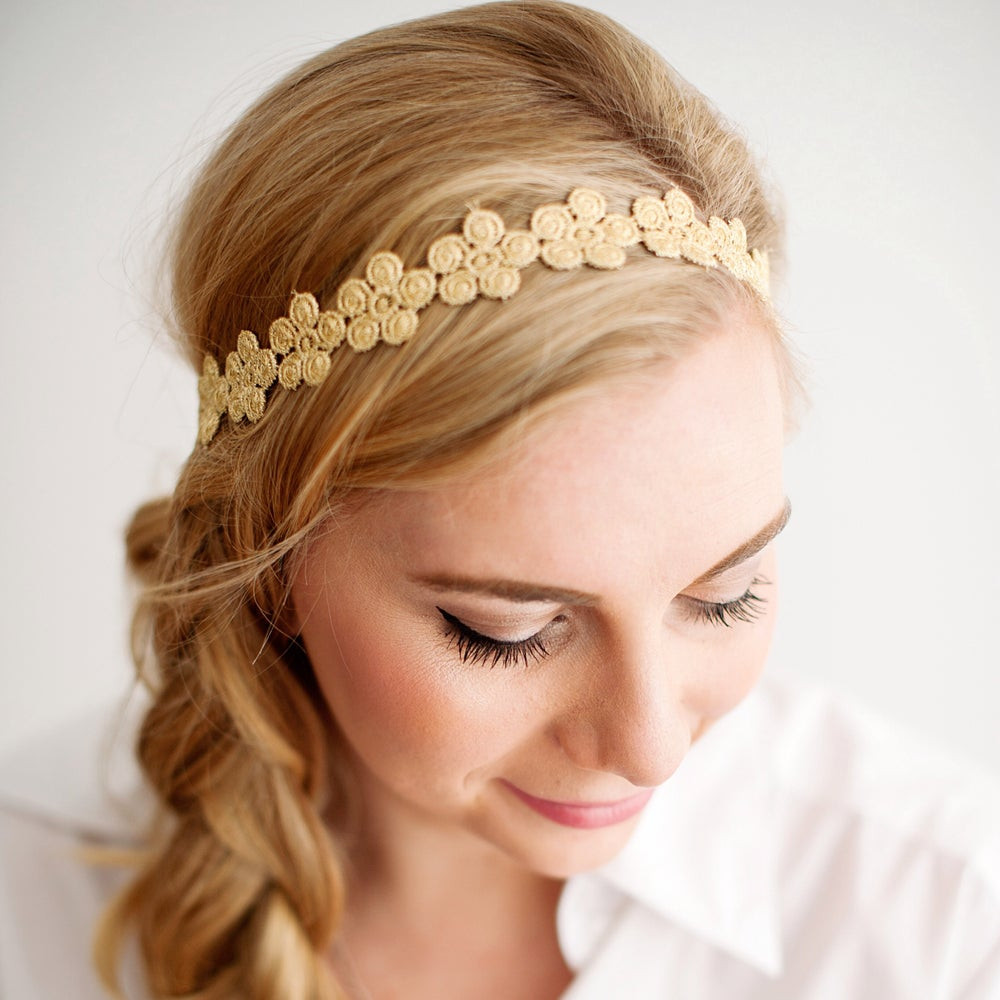 Image of The Katie Lace Headband -Adult