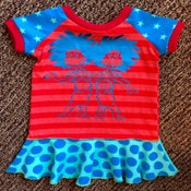 Image of Thing 1 Thing 2 dress, size 3T