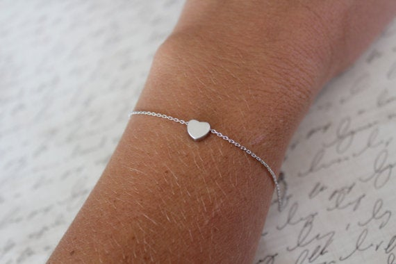 Image of Dainty Upper case Chain Bracelet