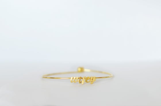 Image of Wifey Bangle