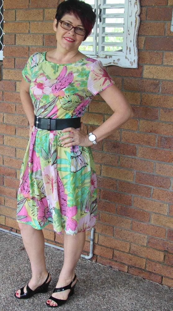 Image of Audrey Tea Dress #30 - Size 10